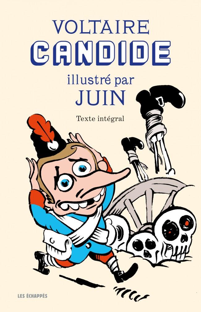 Couverture Candide illustré par Juin