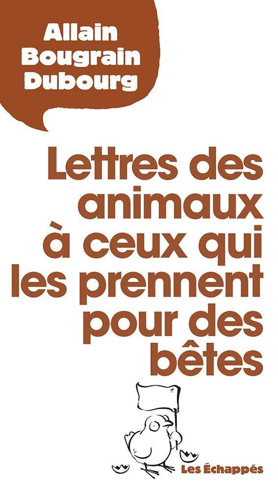 Couverture Lettres des animaux
