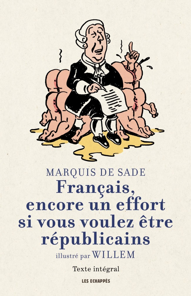 Marquis de Sade illustré par Willem
